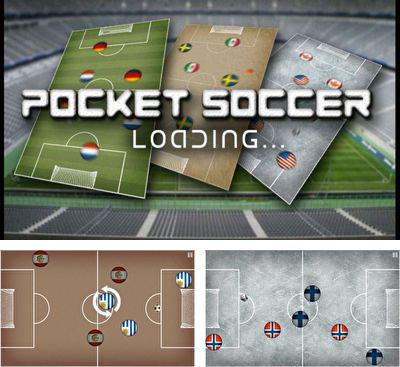 In addition to the game Glow Hockey 3D for Android phones and tablets, you can also download Pocket Soccer for free.