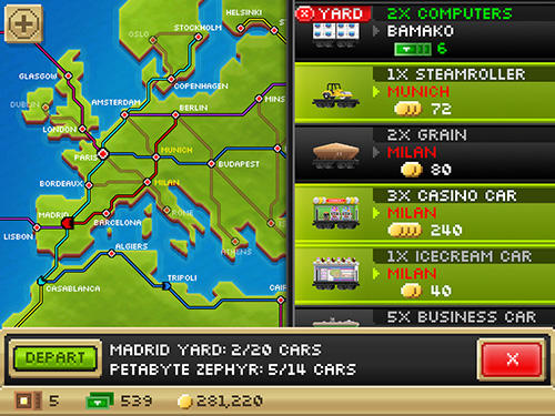Pocket trains screenshot 4