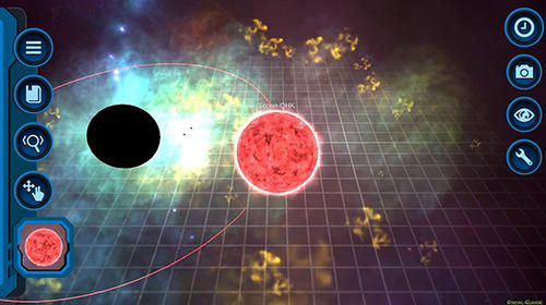 Screenshots von Pocket universe: A 3D gravity sandbox für Android-Tablet, Smartphone.