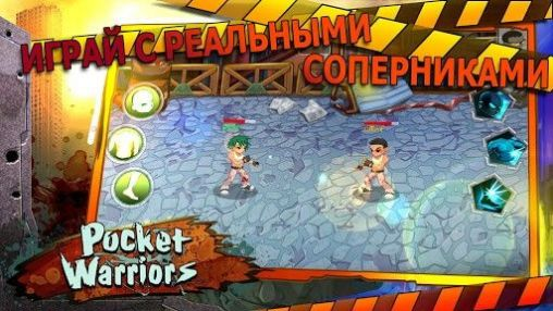 Screenshots von Pocket warriors für Android-Tablet, Smartphone.