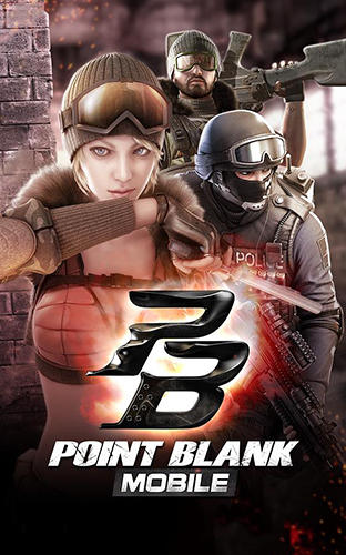 Point blank mobile poster
