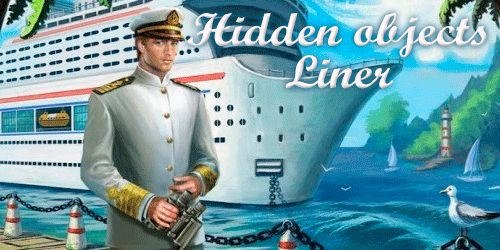 Hidden objects: Liner poster