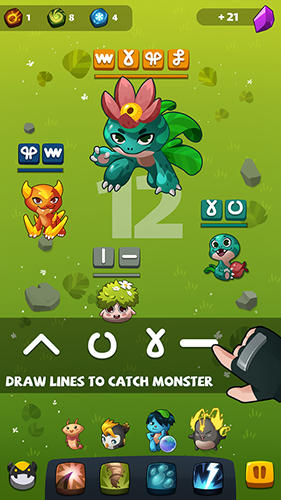 Screenshots do Bulu monster - Perigoso para tablet e celular Android.