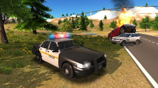 Kostenloses Android-Game Police Car Driving Offroad. Vollversion der Android-apk-App Hirschjäger: Die Police car driving offroad für Tablets und Telefone.