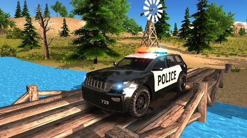 Police car driving offroad für Android spielen. Spiel Police Car Driving Offroad kostenloser Download.
