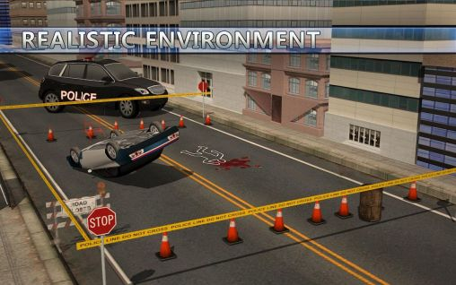 Police car suv and bus parking screenshot 1