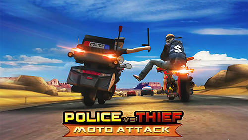 Police vs thief: Moto attack