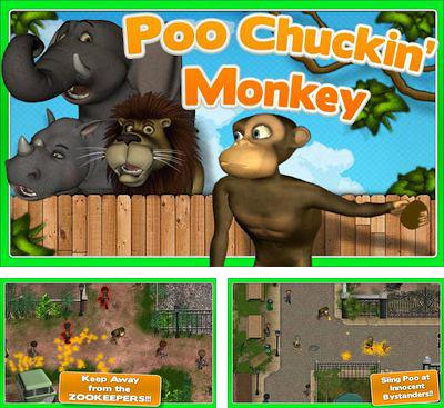 In addition to the game Planet Attack Runner for Android phones and tablets, you can also download Poo Chuckin' Monkey for free.