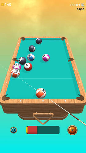 Kostenloses Android-Game Billard-König. Vollversion der Android-apk-App Hirschjäger: Die The king of pool billiards für Tablets und Telefone.