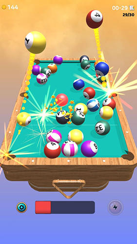Juega a Cue box: The real 3D pool para Android. Descarga gratuita del juego Billar americano real 3D.