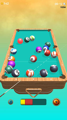 Capturas de pantalla de Cue box: The real 3D pool para tabletas y teléfonos Android.