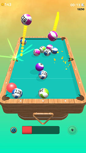 Screenshots von The king of pool billiards für Android-Tablet, Smartphone.
