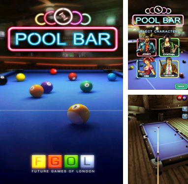 In addition to the game Real Pool 3D for Android phones and tablets, you can also download Pool Bar HD for free.