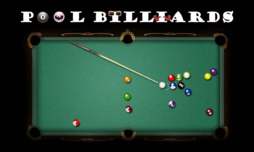 Pool billiards pro poster