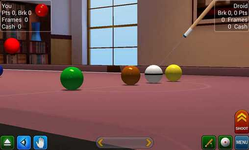 Kostenloses Android-Game Pool Spiel Pro: 3D Billard. Vollversion der Android-apk-App Hirschjäger: Die Pool break pro: 3D Billiards für Tablets und Telefone.
