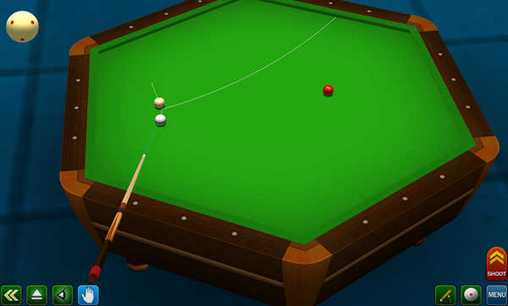 Pool break pro: 3D Billiards für Android spielen. Spiel Pool Spiel Pro: 3D Billard kostenloser Download.