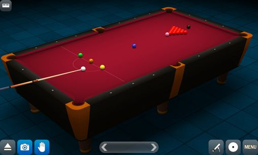 Capturas de pantalla de Pool break pro: 3D Billiards para tabletas y teléfonos Android.
