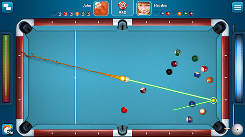 Kostenloses Android-Game Pool Live Pro: 8-Ball und 9-Ball. Vollversion der Android-apk-App Hirschjäger: Die Pool live pro: 8-ball and 9-ball für Tablets und Telefone.