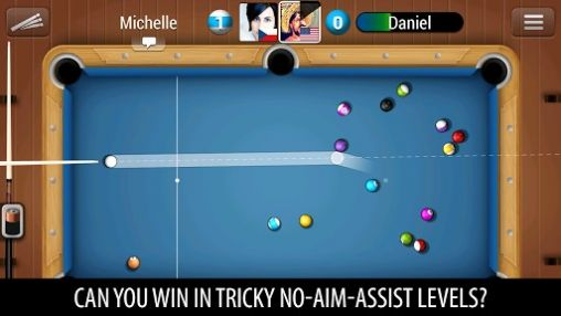 Kostenloses Android-Game Pool live Turnier. Vollversion der Android-apk-App Hirschjäger: Die Pool live tour für Tablets und Telefone.