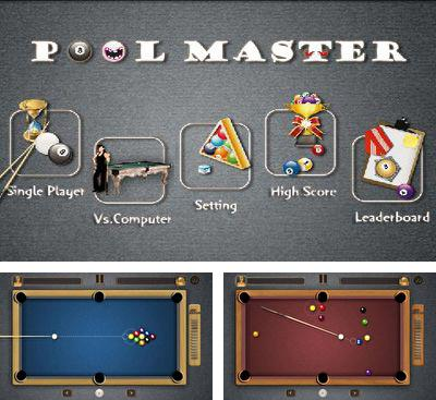 In addition to the game Pool Mania for Android phones and tablets, you can also download Pool Master for free.
