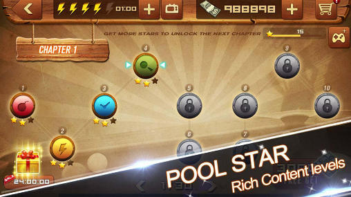 Pool star screenshot 1