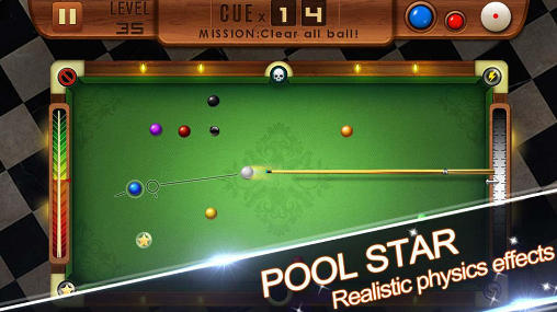 Screenshots von Pool star für Android-Tablet, Smartphone.