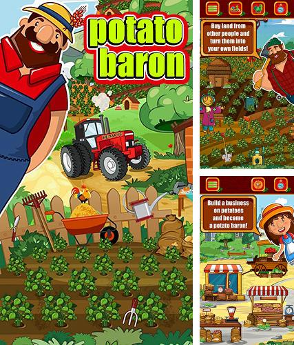Potato baron: Tap tap idle tycoon