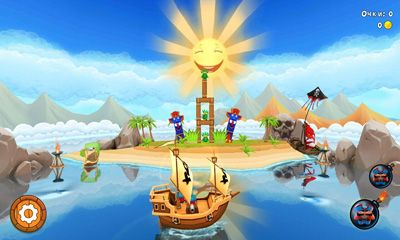 Potshot Pirates 3D screenshot 3