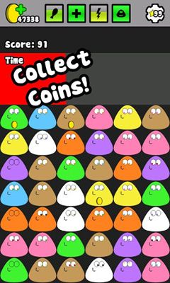 Screenshots do Pou - Perigoso para tablet e celular Android.