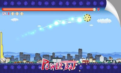 Screenshots of the Power Baseball for Android tablet, phone.