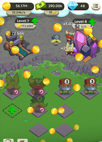 Power miners: Merge and build idle tycoon screenshot 4