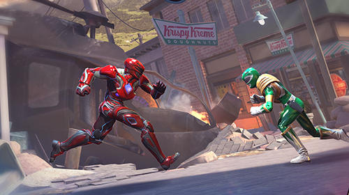 Screenshots von Power rangers: Legacy wars für Android-Tablet, Smartphone.