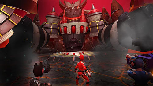 Kostenloses Android-Game Power Rangers: RPG. Vollversion der Android-apk-App Hirschjäger: Die Power rangers: RPG für Tablets und Telefone.