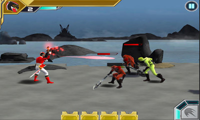 Screenshots do Power Rangers:Swappz MegaBrawl - Perigoso para tablet e celular Android.