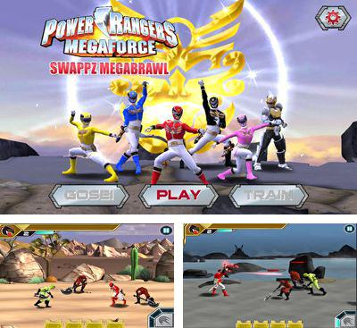 In addition to the game TMNT:  Rooftop run for Android phones and tablets, you can also download Power Rangers:Swappz MegaBrawl for free.