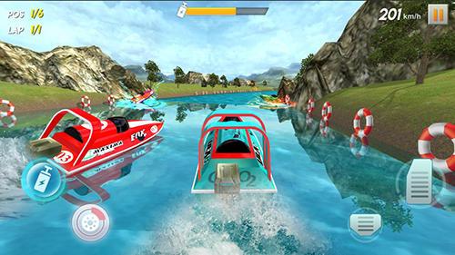 Powerboat race 3D screenshot 2