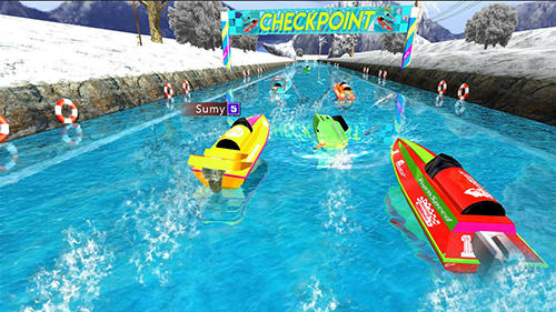 Powerboat race 3D screenshot 3