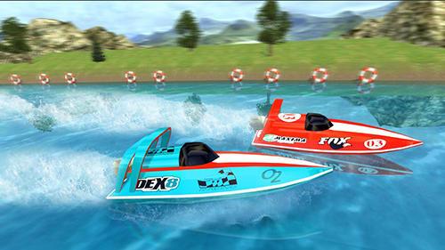Powerboat race 3D screenshot 4