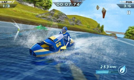 Screenshots von Powerboat racing für Android-Tablet, Smartphone.