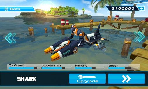 Геймплей Powerboat racing для Android телефону.