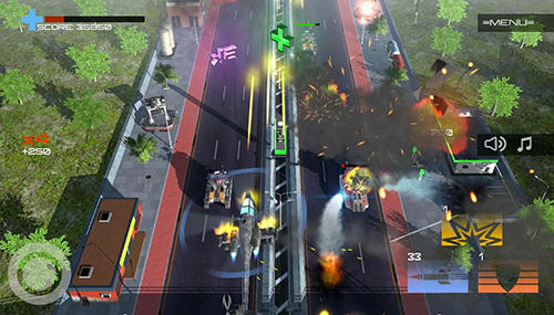 Screenshots von Copter vs aliens für Android-Tablet, Smartphone.