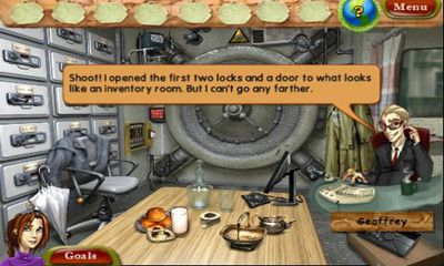 Screenshots of the Natalie Brooks: The Treasures of the Lost Kingdom for Android tablet, phone.