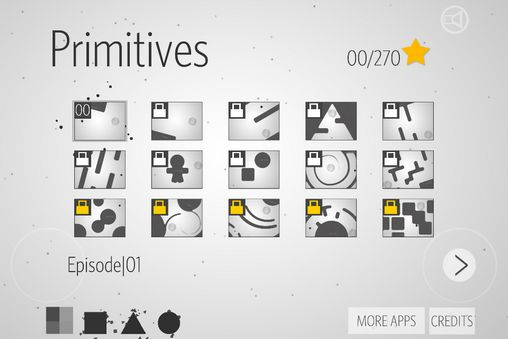 Kostenloses Android-Game Primitive: Puzzle in der Zeit. Vollversion der Android-apk-App Hirschjäger: Die Primitives: Puzzle in time für Tablets und Telefone.