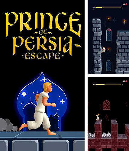 In addition to the game Prince of Persia: Escape for Android, you can download other free Android games for Vertu Aster Diamonds Red Alligator.