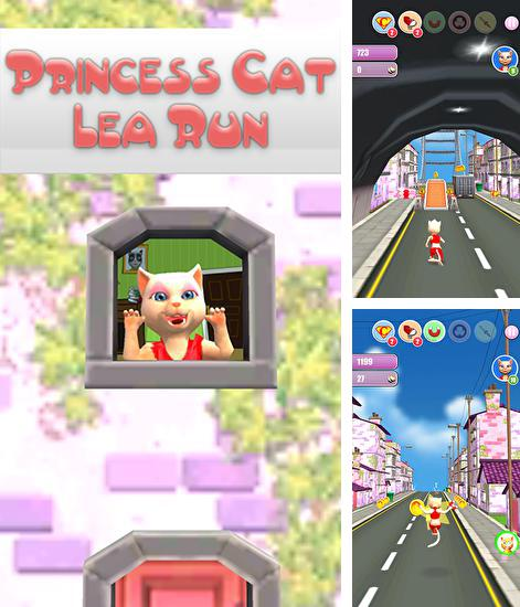 Princess cat Lea run