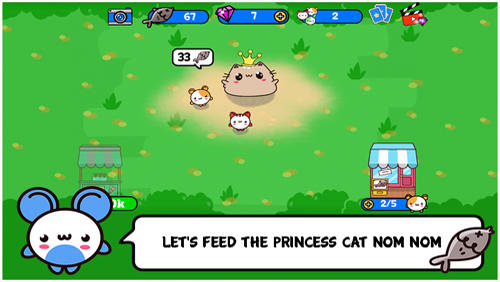 Princess cat Nom Nom screenshot 1