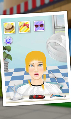Download Princess Hair Salon Android free game.