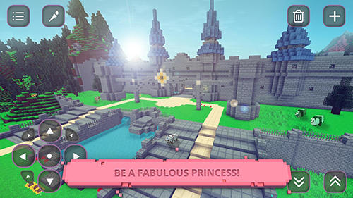 Princess world: Craft and build für Android spielen. Spiel Princess World: Erstelle und Baue kostenloser Download.