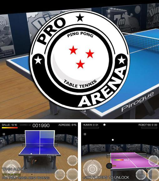 Pro arena: Table tennis. Ping pong