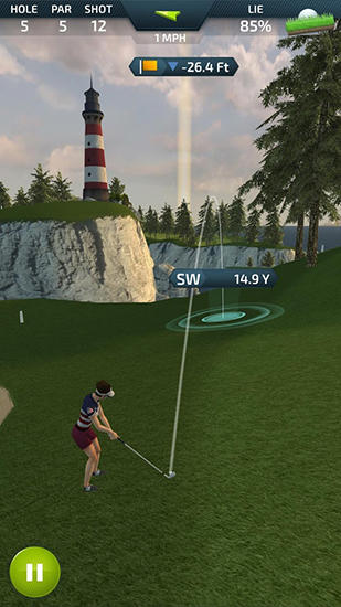 Pro feel golf screenshot 2